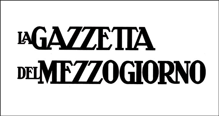 La Gazzetta del Mezzogiorno | Rassegna Stampa