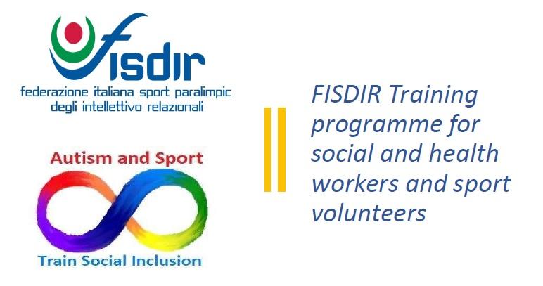 """Corso on line """"Autism and sport"""" per operatori socio-sanitari e volontari sportivi"""