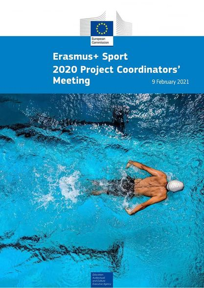 Project coordinator's meeting  and Group Meeting sport project 2020