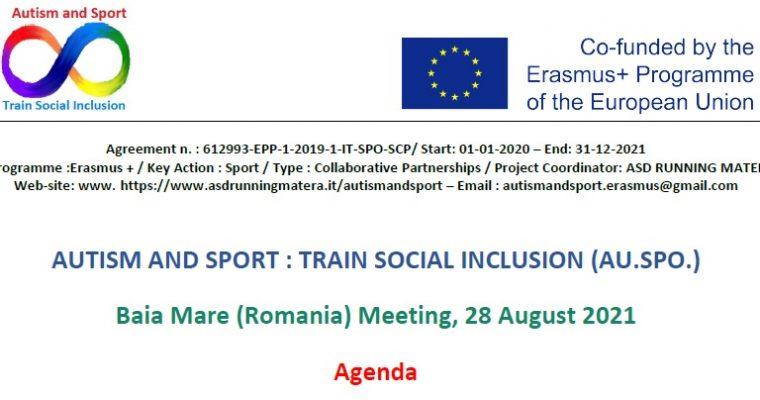 AU.SPO. – Transnational meeting – Baia Mare (Romania) 2021-08-28