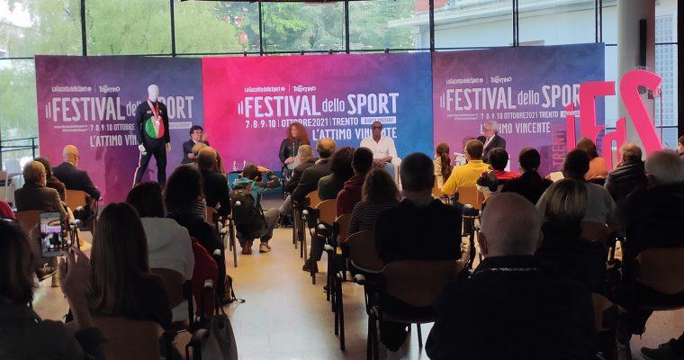 Il progetto AU.SPO. al Festival dello Sport di Trento